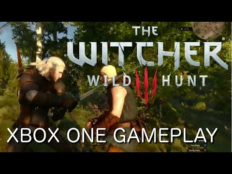 The Witcher 3 en vidéo sur Xbox One