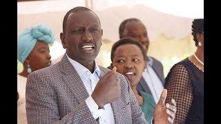 Endorsements won't help you, Ruto tells rivals - VIDEO