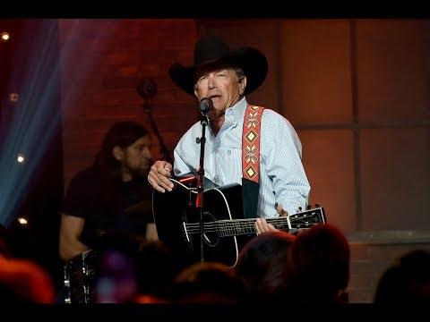 George Strait Singing