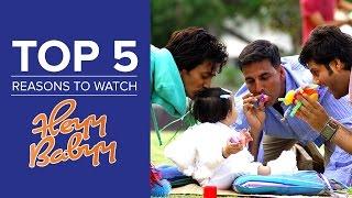 Top 5 Reasons to Watch Heyy Babyy - YouTube