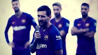 Impresionante discurso de Lionel Messi como nuevo capitán del primer equipo del Barça