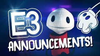 "E3! - ""HUGE BENDY ANNOUNCEMENTS!!"""