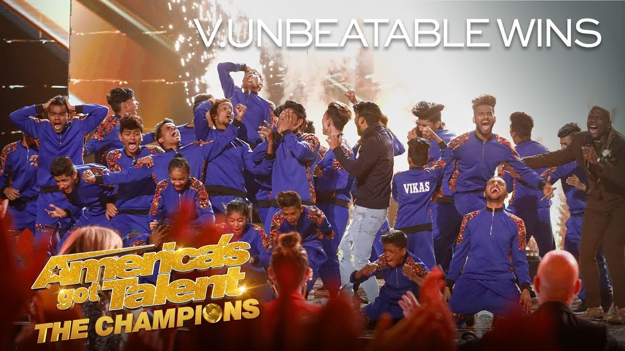 V.UNBEATABLE WINS AGT: THE CHAMPIONS SEASON 2! - America's Got Talent: The Champions thumbnail