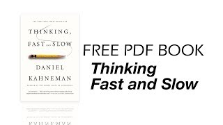 Thinking Fast and Slow Book Pdf for free - 2 minutes introduction