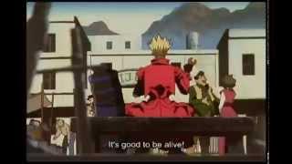аниме Trigun, жёсткая видюшка - но очень тематическая...