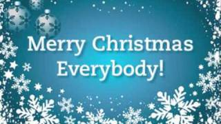 YouTube video E-card Are you hanging up a stocking on your wall Its the time that every Santa has a ball Does he ride a red nosed reindeer..