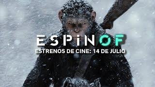 Estrenos de cine - 14 de julio: Emir Kusturica, los coches de Pixar y 'La guerra del planeta de los simios'