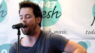 David Cook Paper Heart-acoustic 4/28/11
