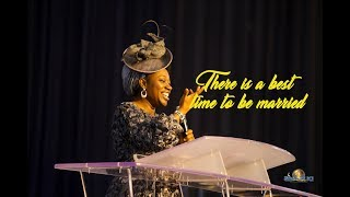 There is a best  time to be married-Dr Becky Paul-Enenche