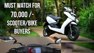 Ather 450 An Extraordinary Scooter || Must Watch for 70,000/- Plus Buyers