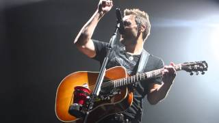 Eric Church - Lotta Boot Left To Fill - April 12, 2015 - Edmonton, AB