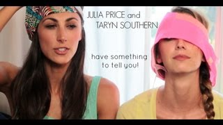Julia Price and Taryn Southern: Blurred Lines response video announcement!!