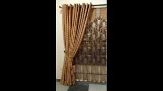 preview picture of video 'Curtain designed by Curtain Museum Islamabad'