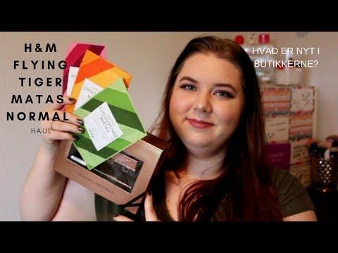 Matas, H&M, Flying Tiger og Normal Haul   Nyheder mv! + Giveaway