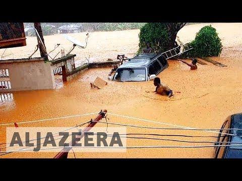 Sierra Leone appeals for 'urgent' aid for deadly mudslide disaster