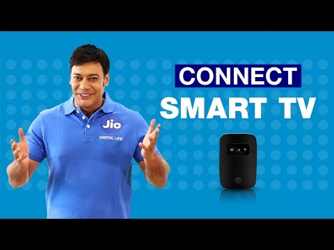 How to Connect JioFi to your Smart TV?