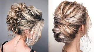 How To Do A Simple Updo For Long Hair | Easy Casual Updos | Wedding Guest Hairstyle | Hair Tutorial