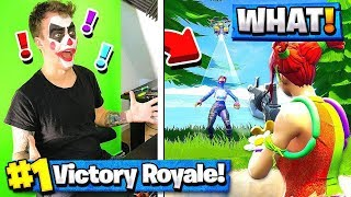 RANDOM SKIN DRESS UP CHALLENGE in Fortnite Battle Royale!