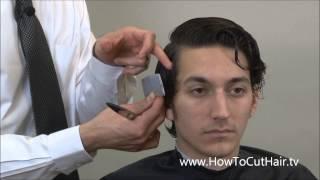 1920s Mens Hairstyle - Leonardo DiCaprio Hairstyle