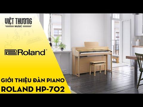 Giới thiệu đàn piano điện Roland HP-702