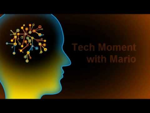 Tech Moment with Mario Video Logo