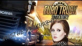 Euro Truck Simulator 2 - Met Adele naar Duitsland?