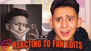 reacting to fan edits...PART 3 | CHILLLLLLLL
