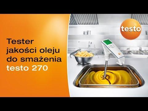 Tester jakości oleju spożywczego testo 270