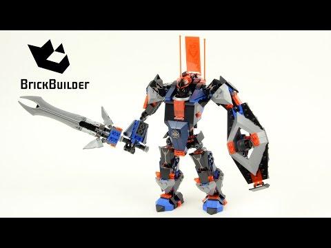 Vidéo LEGO Nexo Knights 70326 : Le robot du chevalier noir