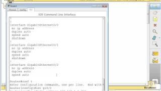 Cisco Packet Tracer Quickstart