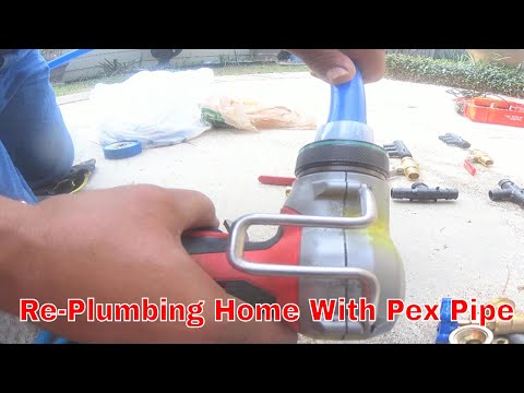 Pex Re-pipe Plumbing 1 Of 9