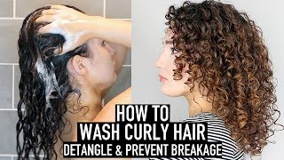 How To Wash Curly Hair   Curly Haircare For Beginners