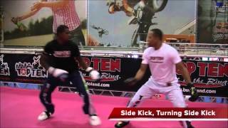 Light Sparring  Attack and Defense Techniques (kickboxing)