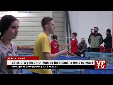Băicoiul a găzduit Olimpiada județeană la tenis de masă