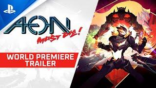 PlayStation Aeon Must Die - World Premiere Trailer | PS4 anuncio
