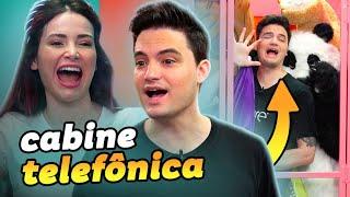 ESMAGUEI O FELIPE NA CABINE  TELEFÔNICA!!