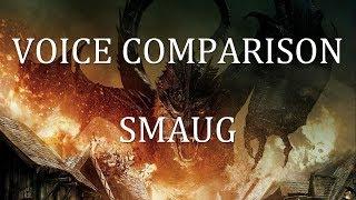 Voice Comparison: Smaug (Hobbit)