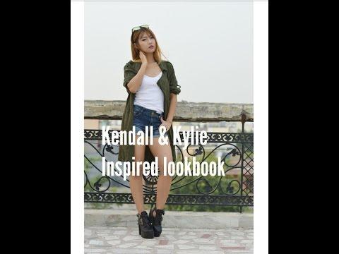 Kendall & Kylie : Celeb Style Inspiration Lookbook !