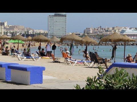 Las playas de Melilla registran 650 incidencias en el mes de julio