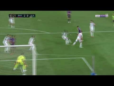 Coutinho Goal 2-0 Barcelona Vs Deportivo Alaves 18/08/2018