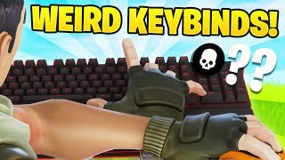 This Pro Player Uses The WEIRDEST Keybinds And DESTROYS Everyone... (Fortnite Battle Royale)