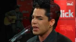 Adam Lambert Acoustiv Sleepwalker Blick.ch Switzerland