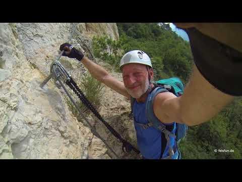 Ferrata Monte Albano / Mori Klettersteig 2018