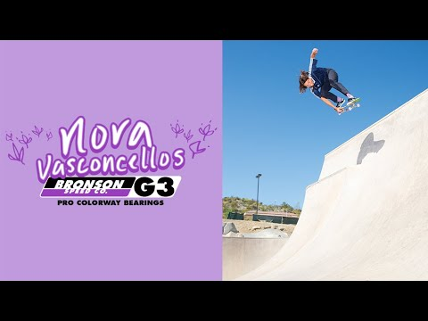 Nora Vasconcellos: First Ever G3 Pro Colorway