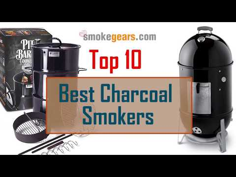Top 10 Best Charcoal Smokers Reviews