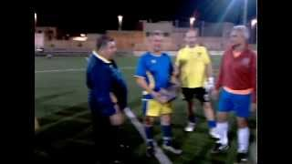 preview picture of video 'Futbol  Perpetuo Socorro y Hospital  la Plana en Almassora'