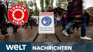 WELT NEWS IM STREAM: Kampf gegen Corona - Deutschland steht trister November bevor