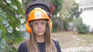 STIHL  Safety - How to use a chainsaw