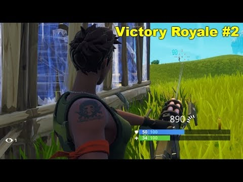Fornite: Victory Royale #2 - The Inhuman One