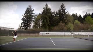 Ανδρικά παπούτσια τένις Wilson Glide Comp video